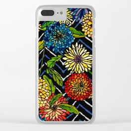 Chrissy Flowers Bohemian Clear iPhone Case