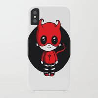 devil iPhone & iPod Cases featuring Devil by Chrystal Elizabeth