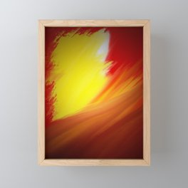Fahrenheit | Musical Crime Productions | Digital Abstract Framed Mini Art Print