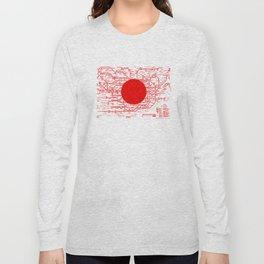 Modern Japan - Tokyo Long Sleeve T-shirt