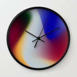 Abstract colors Wall Clock