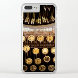 The Wordsmith Clear iPhone Case