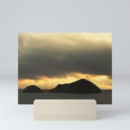 Isolated islet Mini Art Print