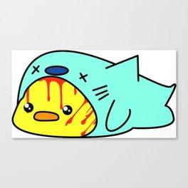 Dushy the duck? fish? something something goru kawaii Canvas Print