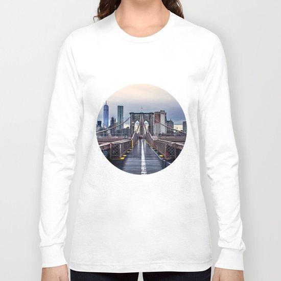 Brooklyn lines Long Sleeve T-shirt