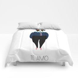 Terrier / Te Amo Comforters