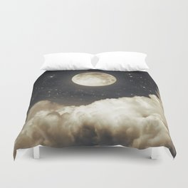Touch of the moon I Duvet Cover