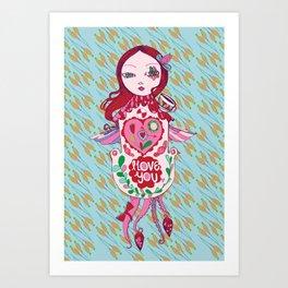 Cuckoo For You. Art Print