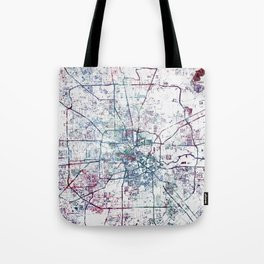 Houston map Tote Bag
