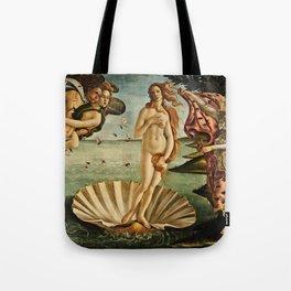 Botticelli  -  The Birth Of Venus Tote Bag