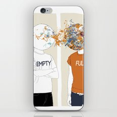 EMPTY-FULL iPhone & iPod Skin