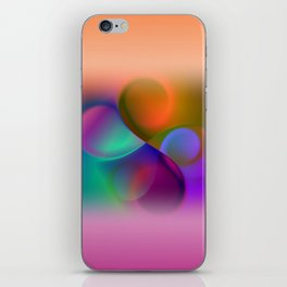window curtain - colors for your home -2- iPhone Skin
