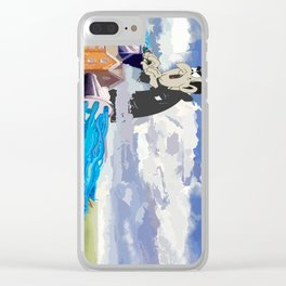 Another Smurf Clear iPhone Case