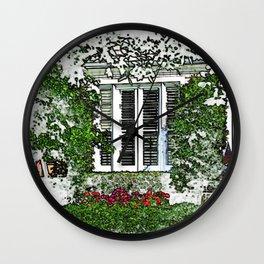 Quaker Lane Wall Clock