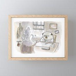 Fetch Ketchum: Dames Framed Mini Art Print
