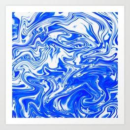Marbled XX Art Print