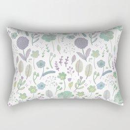 Wild Bloom Rectangular Pillow