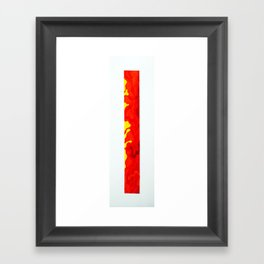 Long Study IIII Framed Art Print