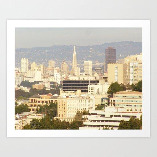 San Francisco III Art Print