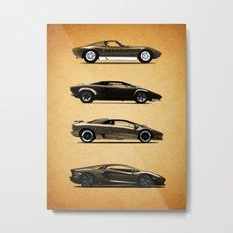 Evolution of the Bull Metal Print