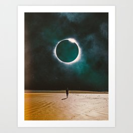 Returning To The Eclipse Art Print