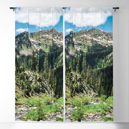 No Trails to the Top // Incredible Hiking Views Blissful Beauty Peaceful Landscape Photography Blackout Curtain