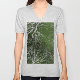 Fall Into The Open Unisex V-Neck