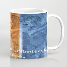 The world is umlimited. I am free... Coffee Mug
