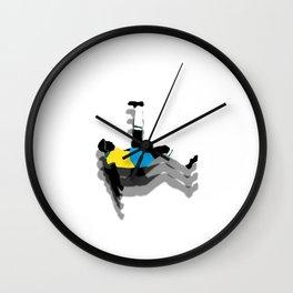 PELE Wall Clock