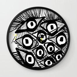 illustration Wall Clock