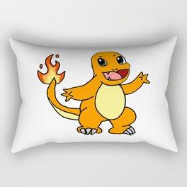 Baby Fire Character Rectangular Pillow