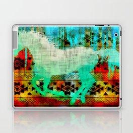 A southwest winter horse Laptop & iPad Skin