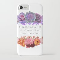 panic at the disco iPhone & iPod Cases featuring Panic! by Midnight Mania