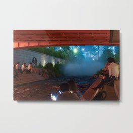 Cheonggyecheon  Metal Print