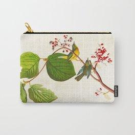 Pine Swamp Warbler Bird Carry-All Pouch