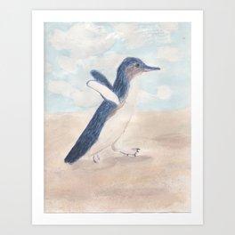 Fairy Penguin Art Print