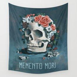 Memento Mori Wall Tapestry