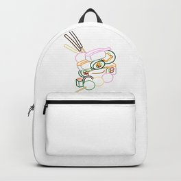 Sushi and Sweets - Outline Backpack