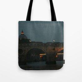 Bridges of Rome in the Evening Tote Bag