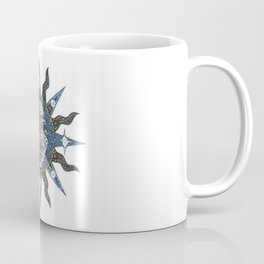 Celestial Mosaic Sun/Moon Coffee Mug