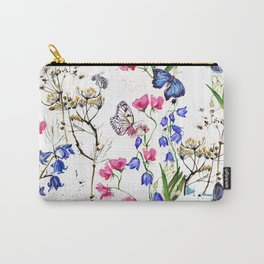 Wild Flowers Field Carry-All Pouch
