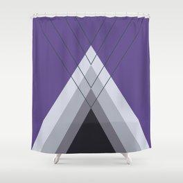 Iglu Ultra Violet Shower Curtain
