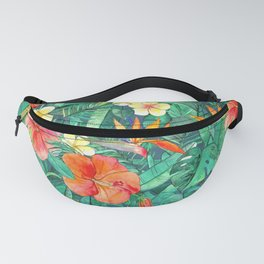 Classic Tropical Garden Fanny Pack