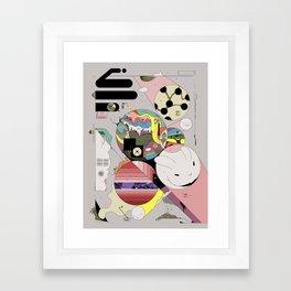 Spiteful Happy Framed Art Print