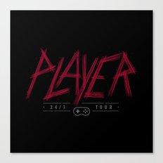 Slayer Player Canvas Print