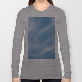Blue and White Softlight Cloudscape Long Sleeve T-shirt