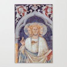 ANTONIO DA ATRI- Trinity With Three Faces Canvas Print