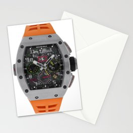 Richard Mille 11-02 Titanium Flyback Chronograph Dual Time Zone 50MM Watch Stationery Cards