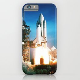Space Shuttle Launch iPhone Case