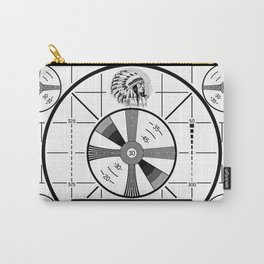 Indian-Head Test Pattern Carry-All Pouch